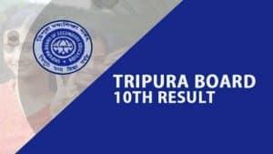 Tripura 10th Results 2019