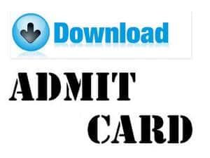 UGAT Admit Card 2018