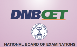 DNB CET 2020 Application Form