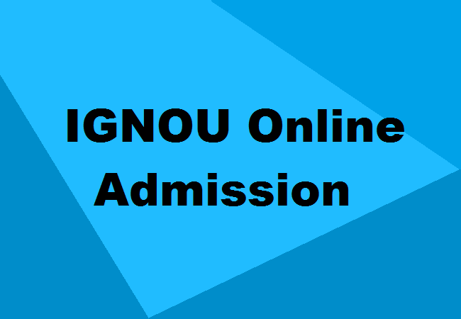 IGNOU-Online-Admission