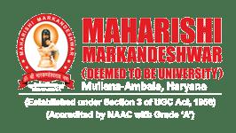 MMDU Mullana Admission