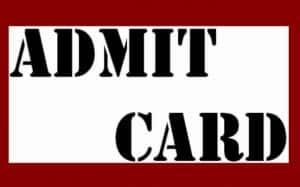 PGIMER 2020 Admit Card