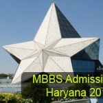 Haryana MBBS/BDS Admission