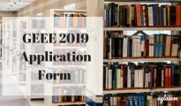 GEEE 2019 Application Form