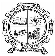 Goa University MCA Entrance Exam