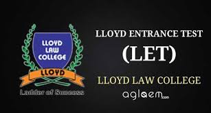Lloyd Law Entrance Test LET