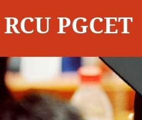 RCU PGCET (Karnataka) 2019