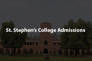 St Stephen's College Admission