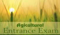 Agricultural Entrance Exams