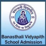 Banasthali School Admissions 2019