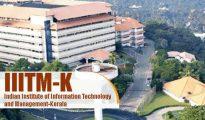 IIITM Kerala 2019 Application Form
