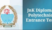 J&K Diploma Polytechnic PET 2019 Application Form