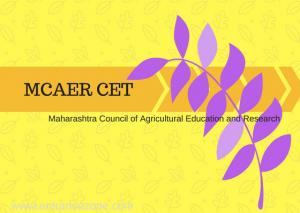 MCAER UG 2019 Application Form