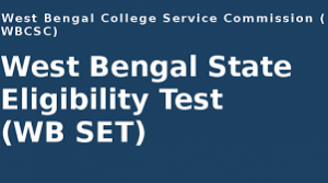 WB SET 2019: Application (Released), Dates, Eligibility