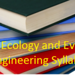 GATE 2019 Ecology & Evolution Syllabus