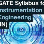 GATE 2019 Instrumentation Engineering Syllabus