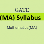 GATE 2019 Mathematics Syllabus