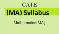 GATE 2019 Mathematics Syllabus