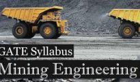 GATE 2019 Mining Engineering Syllabus