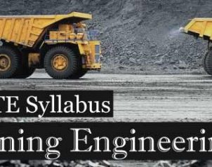 GATE 2019 Mining Engineering Syllabus