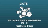GATE 2019 Polymer Science & Engineering Syllabus