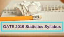GATE-2019-Statistics-Syllabus