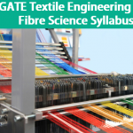 GATE 2019 Textile Engineering & Fibre Science Syllabus
