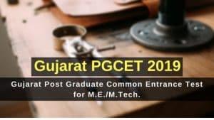 Gujarat PGCET