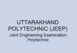 Uttarakhand Polytechnic JEEP