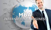M.B.A. International Business