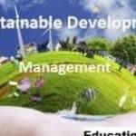 M.B.A. Sustainable Development Management