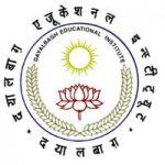 Dayalbagh Educational Institute Admission 2020 Result Declared Score Card Admission Procedure
